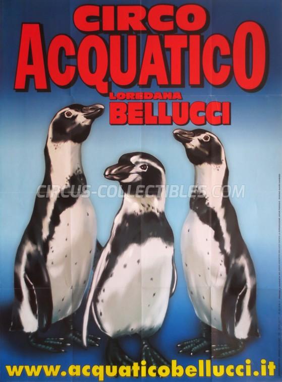 Acquatico Bellucci Circus Poster - Italy, 2007