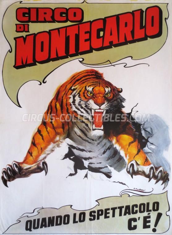 Circo di Montecarlo Circus Poster - Italy, 1991