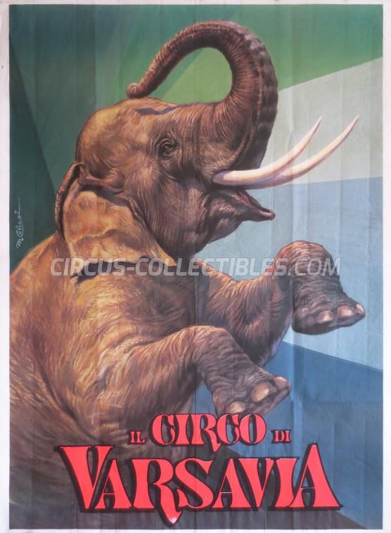 Varsavia Circus Poster - Italy, 1994