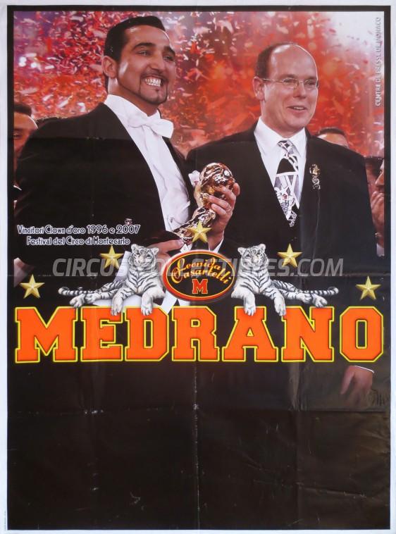 Medrano (Casartelli) Circus Poster - Italy, 2009