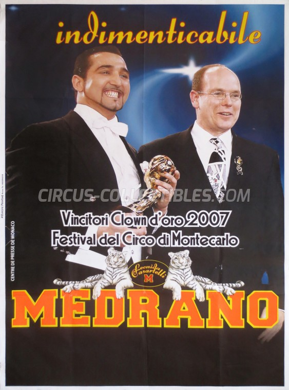 Medrano (Casartelli) Circus Poster - Italy, 2007