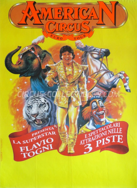 American Circus Circus Poster - Italy, 2000