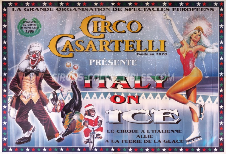 Medrano (Casartelli) Circus Poster - Italy, 1998