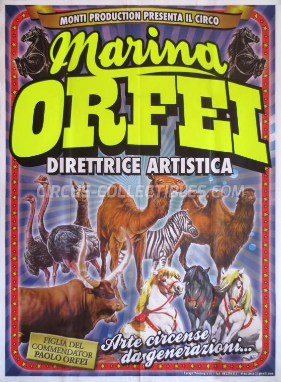 Marina Orfei Circus Poster - Italy, 0
