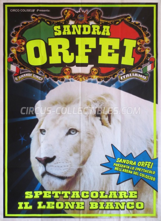 Sandra Orfei Circus Poster - Italy, 0