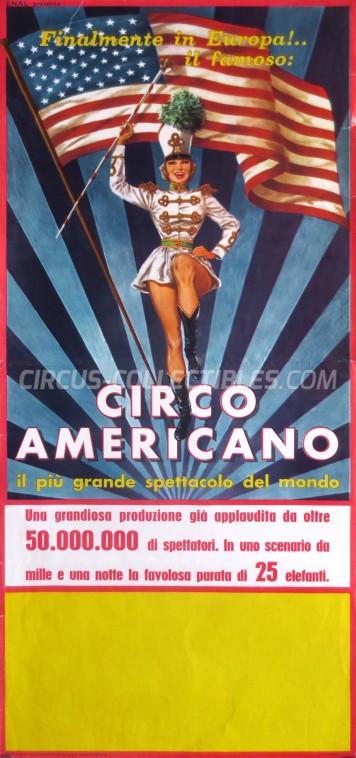 American Circus Circus Poster - Italy, 1964