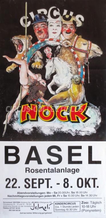 Nock Circus Poster - Switzerland, 1996