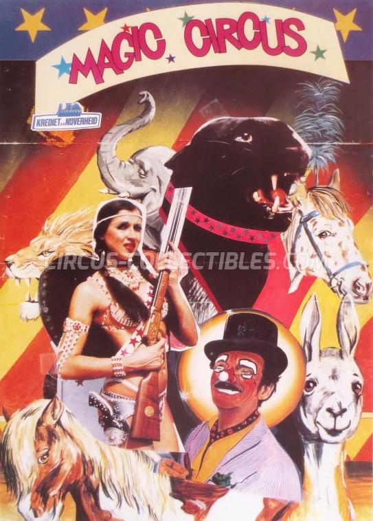 Magic Circus Circus Poster - Belgium, 0