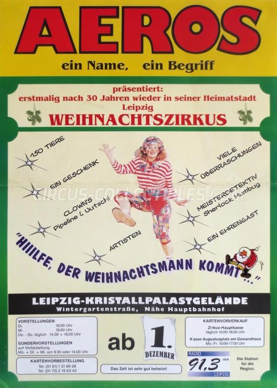 Aeros Circus Poster - Germany, 0