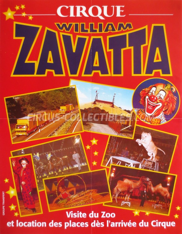 William Zavatta Circus Poster - France, 2003