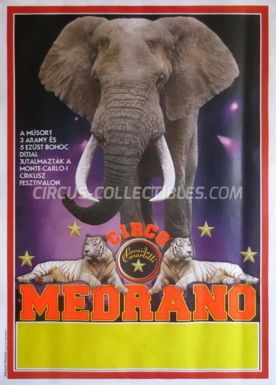 Medrano (Casartelli) Circus Poster - Italy, 2011