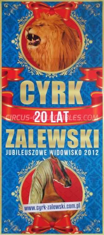 Zalewski Circus Poster - Poland, 2012