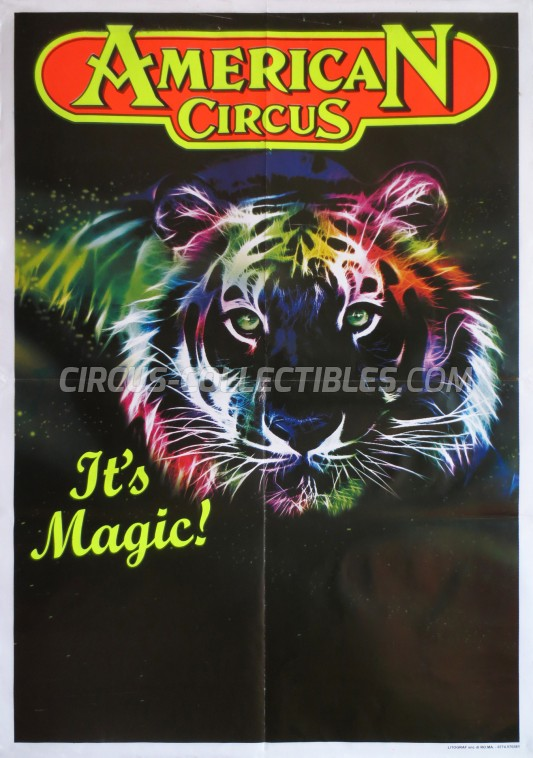 American Circus Circus Poster - Italy, 2011