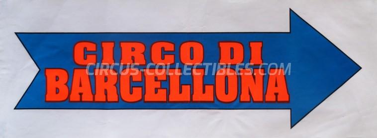 Circo di Barcellona Circus Poster - Italy, 0