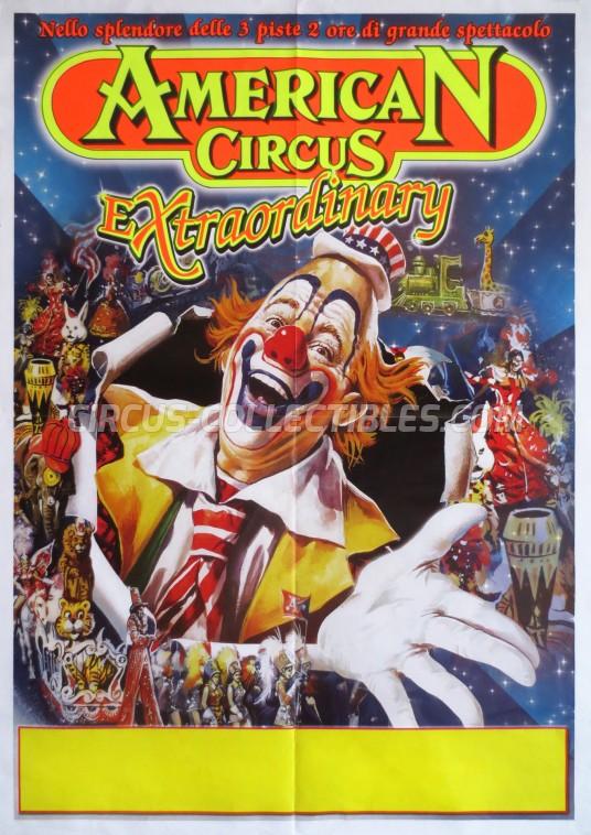 American Circus Circus Poster - Italy, 2010