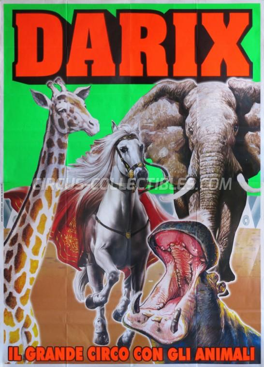 Darix Martin Circus Poster - Italy, 0
