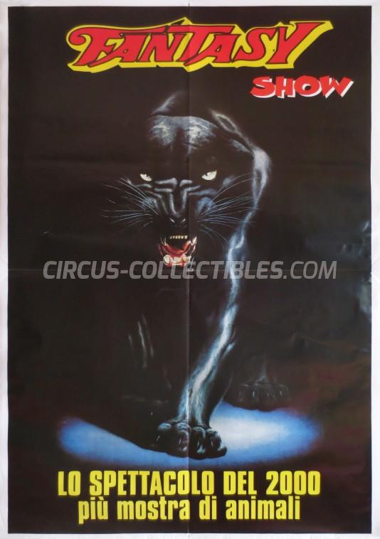 Fantasy Circus Poster - Italy, 2000