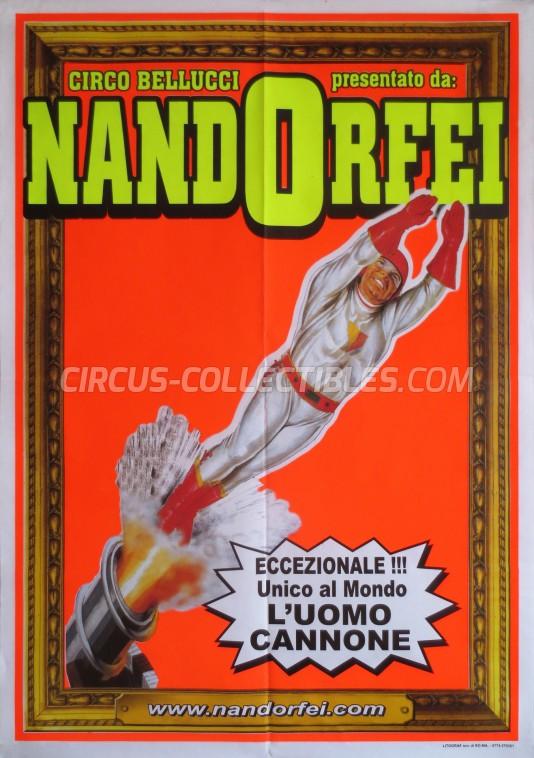 Nando Orfei Circus Poster - Italy, 2010