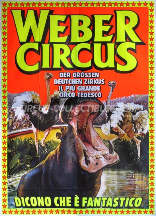 Weber Circus Circus Poster - Italy, 0