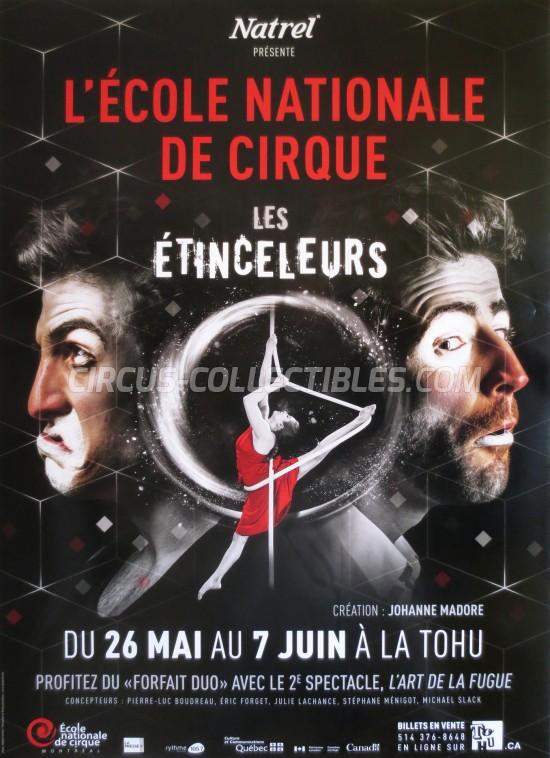 L'école Nationale de Cirque Circus Poster - Canada, 2015