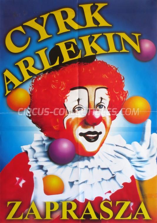 Arlekin Circus Poster - Poland, 0