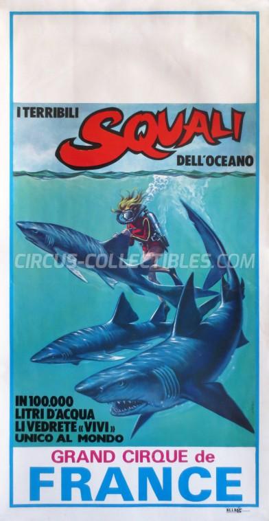 Circo di Francia Circus Poster - Italy, 0