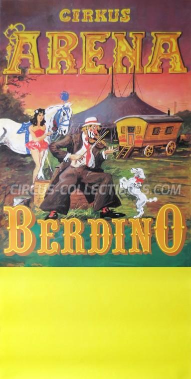 Arena Circus Poster - Denmark, 1987