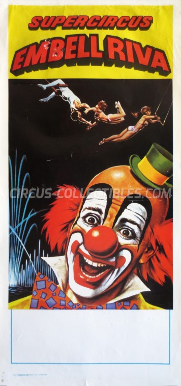 Embell Riva Circus Poster - Italy, 0