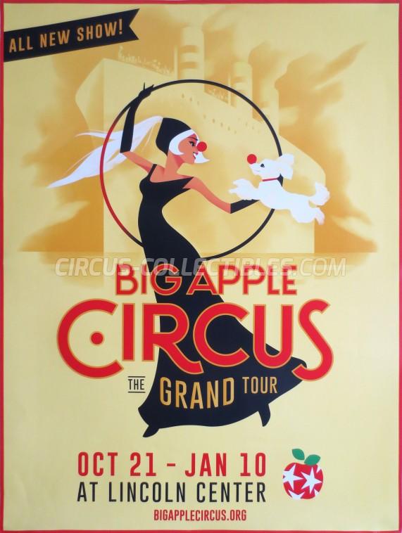 Big Apple Circus Circus Poster - USA, 2015