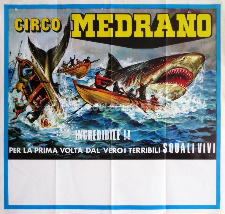 Medrano (Casartelli) Circus Poster - Italy, 0