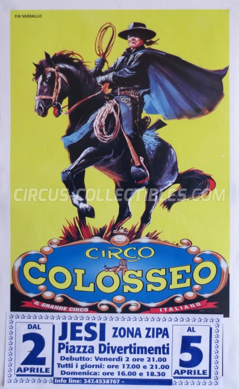 Colosseo Circus Poster - Italy, 2004