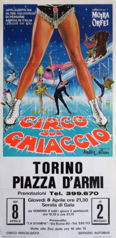 Moira Orfei Circus Poster - Italy, 1971