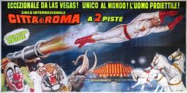 Circo Citta' di Roma Circus poster - Italy, 1992