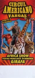 Circul Americano Vargas Circus poster - Romania, 2015