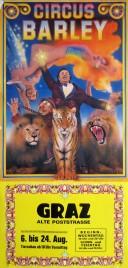 Circus Barley Circus poster - Austria, 1986