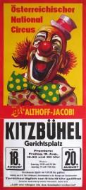 Österreichischer Nationalcircus Elfi Althoff-Jacobi Circus poster - Austria, 1978