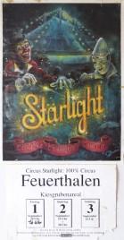 Circus Starlight Circus poster - Switzerland, 1995