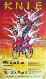 Circus Knie Circus poster - Switzerland, 1984