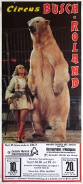 Circus Busch-Roland Circus poster - Germany, 1989
