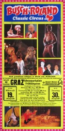Circus Busch-Roland Circus poster - Germany, 1992