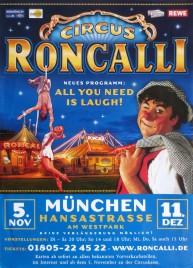 Circus Roncalli Circus poster - Germany, 2010