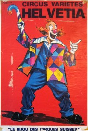 Circus Varietes Helvetia Circus poster - Switzerland, 0