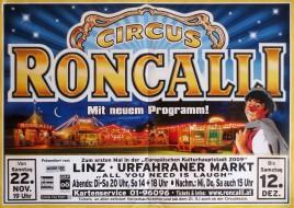 Circus Roncalli Circus poster - Germany, 2009