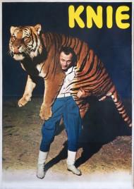 Circus Knie Circus poster - Switzerland, 1970