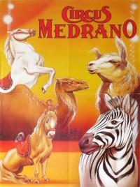 Circus Medrano Circus poster - Switzerland, 1996
