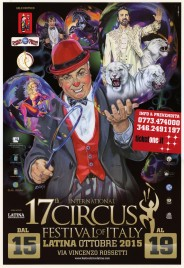 17th International Circus Festival City of Latina Circus poster - Italy, 2015