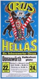 Circus Hellas Circus poster - Germany, 1988