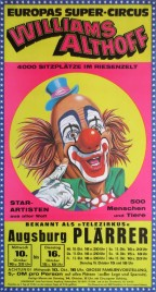 Circus Williams-Althoff Circus poster - Germany, 1979