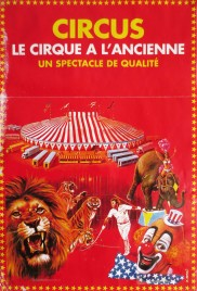Stock Poster Circus poster - France, 1999