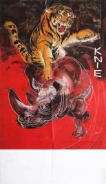Circus Knie Circus poster - Switzerland, 1972